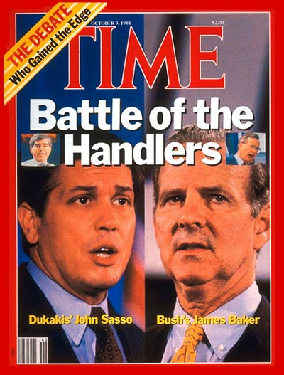 TIME Magazine Cover: John Sasso & James Bakker -- Oct. 3, 1988