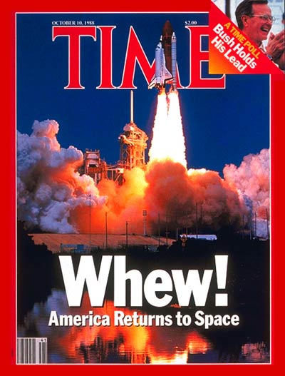 TIME Magazine Cover: U.S. Returns to Space -- Oct. 10, 1988
