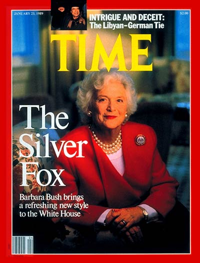 TIME Magazine Cover: Barbara Bush -- Jan. 23, 1989