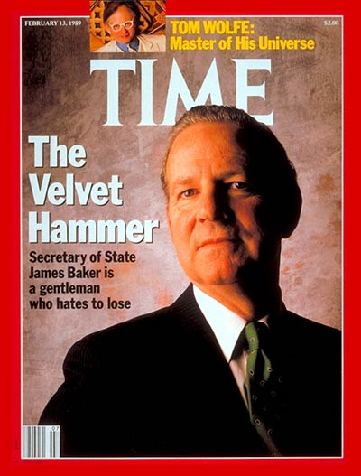 TIME Magazine Cover: James Baker -- Feb. 13, 1989