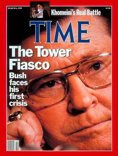 TIME Magazine Cover: John Tower -- Mar. 6, 1989