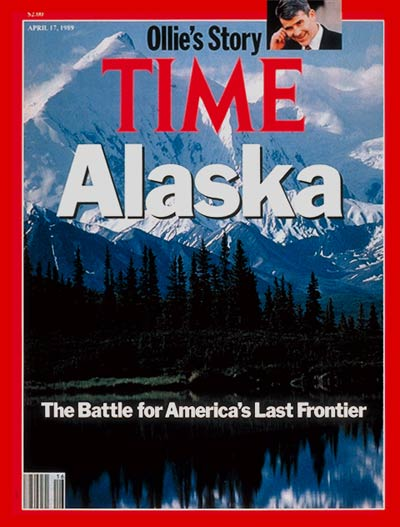 Alaska. Inset: Oliver North by Robert Trippett.