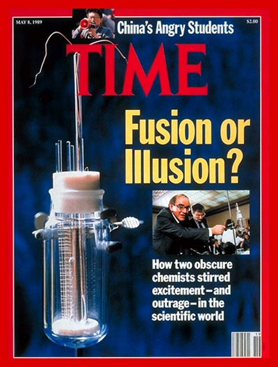 TIME Magazine Cover: Cold Fusion? -- May 8, 1989