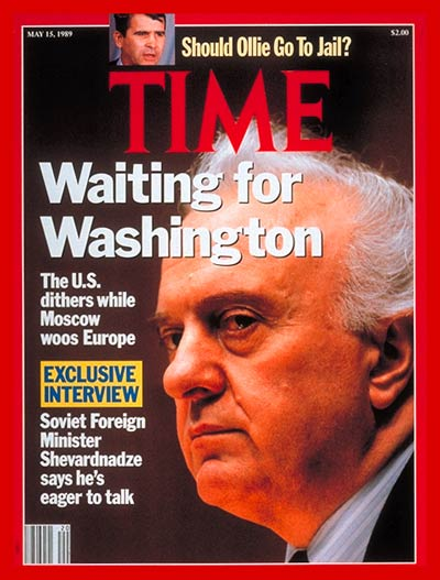 TIME Magazine Cover: Eduard Shevardnadze -- May 15, 1989