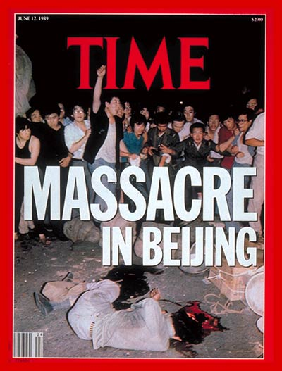 TIME Magazine Cover: Massacre in Beijing -- June 12, 1989
