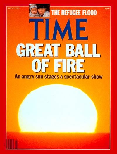 TIME Magazine Cover: The Sun -- July 3, 1989