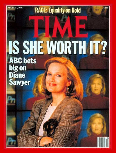 Is She Worth It?' news anchor Diane Sawyer.