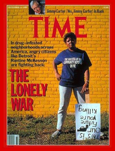 TIME Magazine Cover: Citizens Fight Drugs -- Sep. 11, 1989