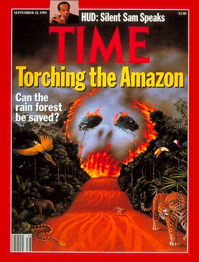 TIME Magazine Cover: Saving the Rain Forest -- Sep. 18, 1989