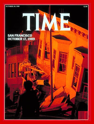 TIME Magazine Cover: San Francisco Earthquake -- Oct. 30, 1989