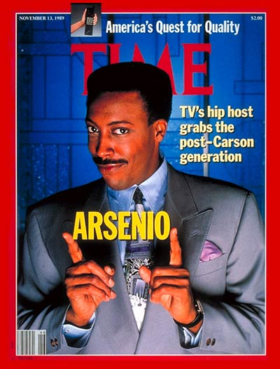 TIME Magazine Cover: Arsenio Hall -- Nov. 13, 1989