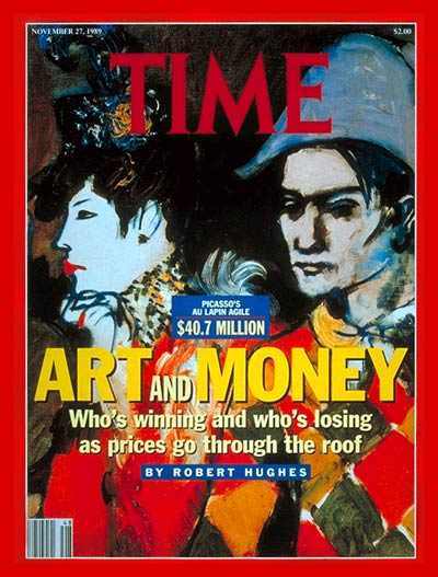 TIME Magazine Cover: Skyrocketing Art Prices -- Nov. 27, 1989