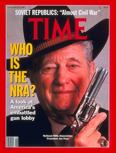 NRA leader  Joe Foss