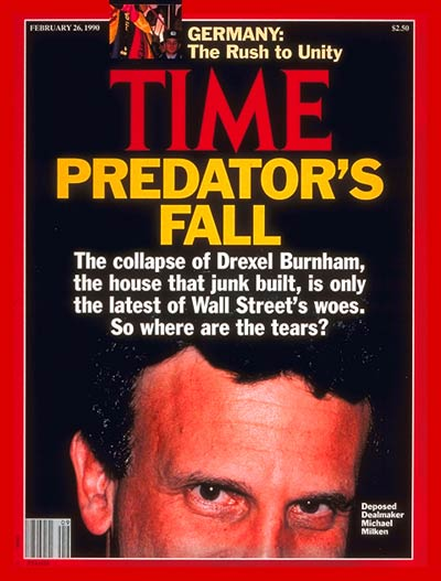 TIME Magazine Cover: Michael Milken -- Feb. 26, 1990