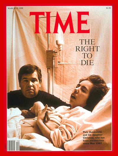 TIME Magazine Cover: Pete and Christine Busalacchi -- Mar. 19, 1990