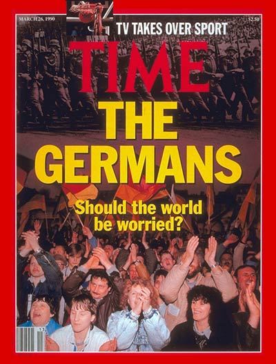 TIME Magazine Cover: Germany -- Mar. 26, 1990
