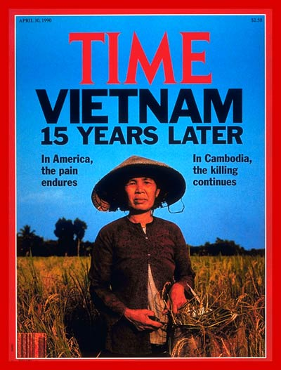 TIME Magazine Cover: Vietnam: 15 Years Later -- Apr. 30, 1990