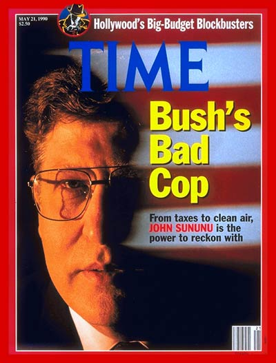 TIME Magazine Cover: John Sununu -- May 21, 1990
