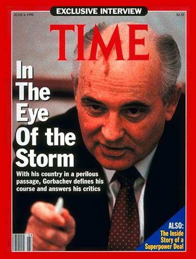 TIME Magazine Cover: Mikhail Gorbachev -- June 4, 1990