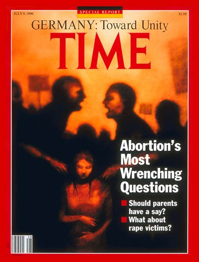 TIME Magazine Cover: Abortion's Questions -- July 9, 1990