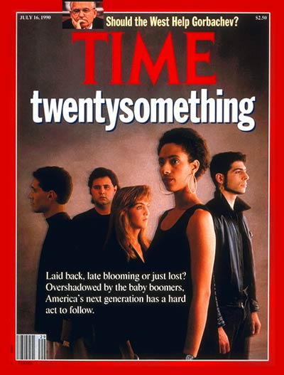 TIME Magazine Cover: The Next Generation -- July 16, 1990