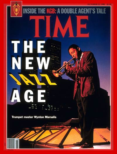 TIME Magazine Cover: Wynton Marsalis -- Oct. 22, 1990