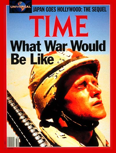 TIME Magazine Cover: U.S. Soldier -- Dec. 10, 1990