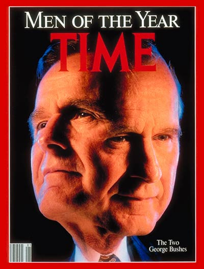 TIME Magazine Cover: George Bush, Men of the Year -- Jan. 7, 1991