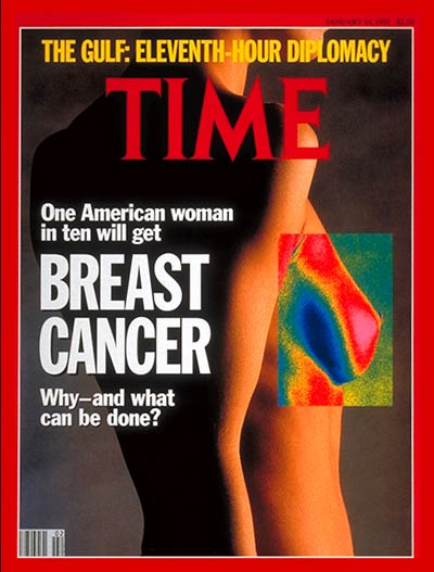 TIME Magazine Cover: Breast Cancer -- Jan. 14, 1991