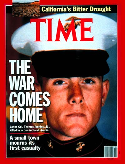America's First Casualty,  Lance Cpl. Thomas Jenkins
