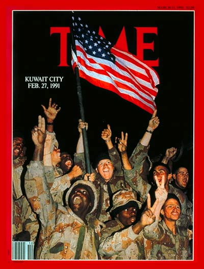 TIME Magazine Cover: Kuwait Is Liberated -- Mar. 11, 1991