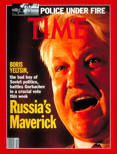 TIME Magazine Cover: Boris Yeltsin -- Mar. 25, 1991