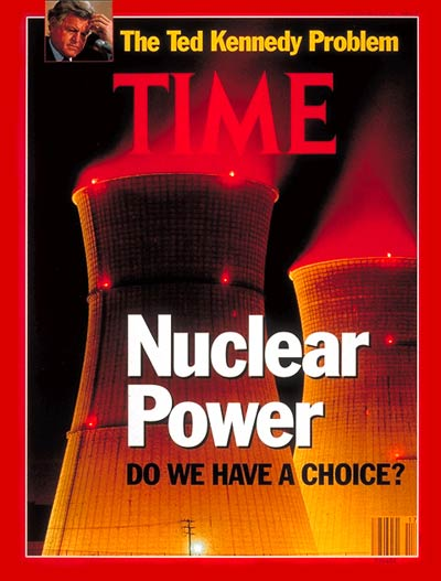 TIME Magazine Cover: Nuclear Power -- Apr. 29, 1991