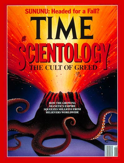 TIME Magazine Cover: Scientology Exposed -- May 6, 1991