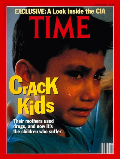 TIME Magazine Cover: Kids Addicted to Crack -- May 13, 1991