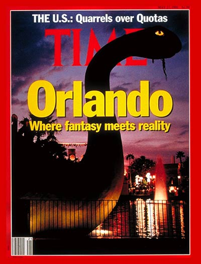 TIME Magazine Cover: The Magic of Orlando -- May 27, 1991