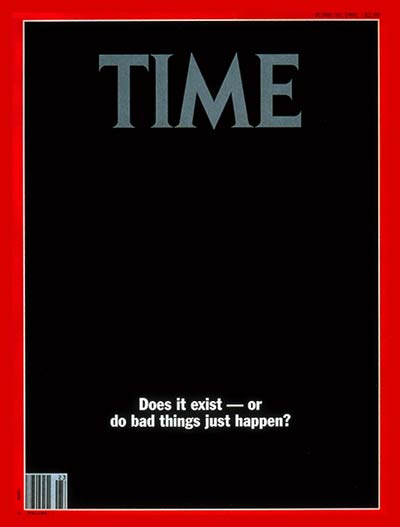 TIME Magazine Cover: The Nature of Evil -- June 10, 1991