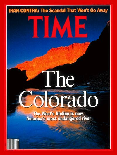 TIME Magazine Cover: The Colorado River -- July 22, 1991