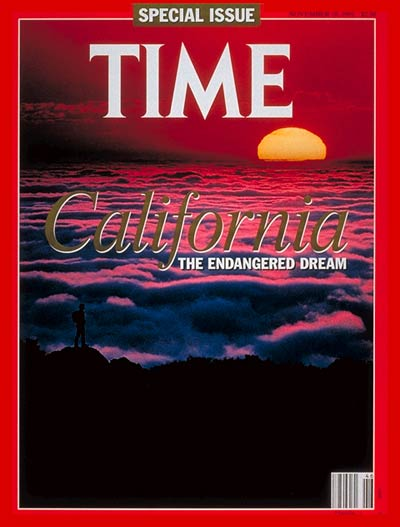 TIME Magazine Cover: California's Dilemma -- Nov. 18, 1991