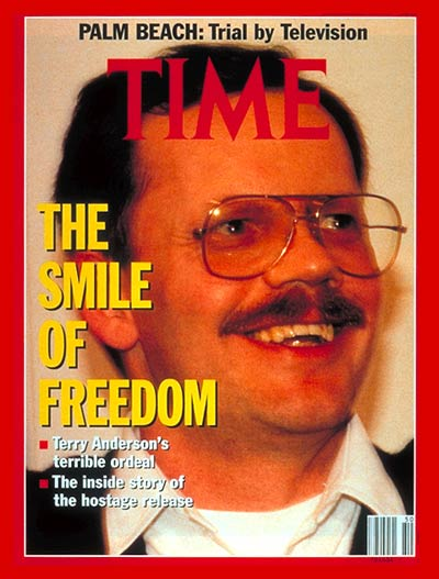 TIME Magazine Cover: Terry Anderson -- Dec. 16, 1991