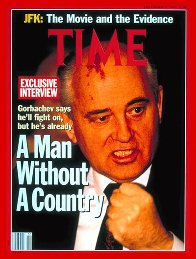 TIME Magazine Cover: Mikhail Gorbachev -- Dec. 23, 1991