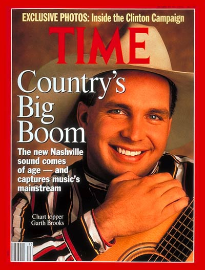 TIME Magazine Cover: Garth Brooks -- Mar. 30, 1992