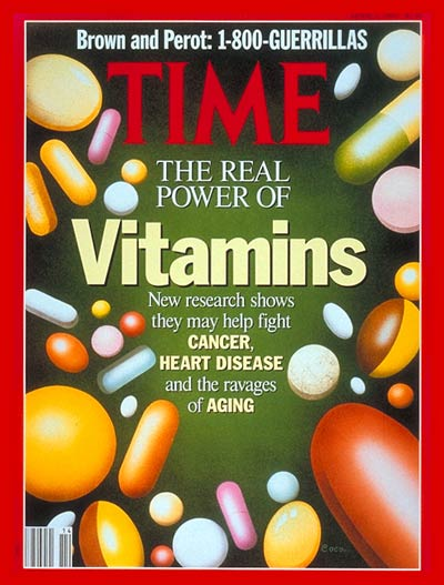 The Real Power of Vitamins'