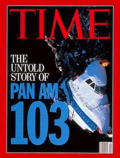 TIME Magazine Cover: Pan Am 103 -- Apr. 27, 1992