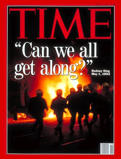 TIME Magazine Cover: Los Angeles Riots -- May 11, 1992
