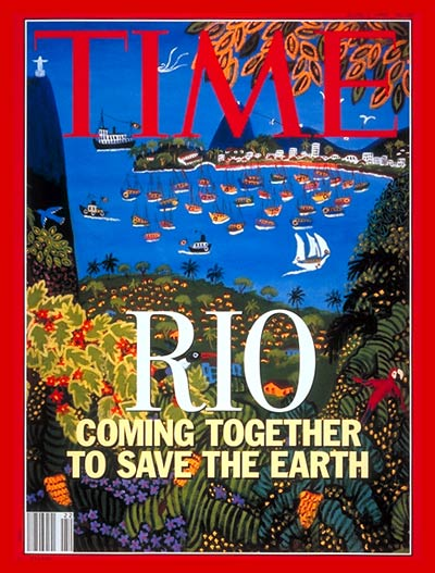 'Rio Coming Together to Save the Earth'