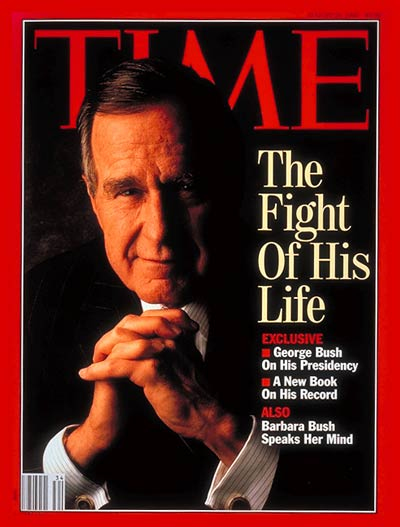The Fight  his Life' President George H. W. Bush.