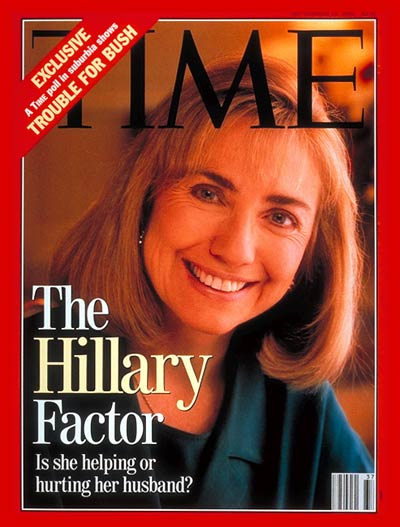 TIME Magazine Cover: Hillary Rodham Clinton -- Sep. 14, 1992