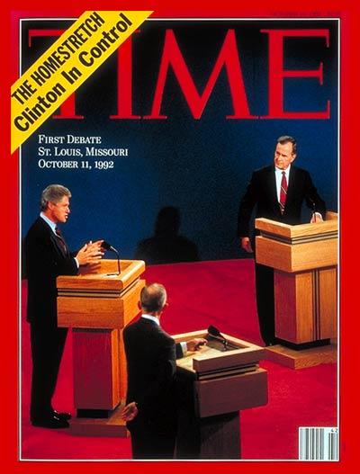 The Presidential Debates: Bush, Perot and Clinton