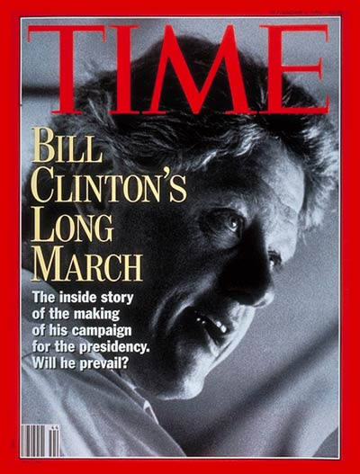 TIME Magazine Cover: Bill Clinton -- Nov. 2, 1992